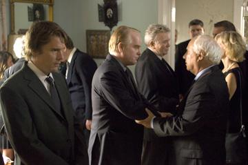 Ethan Hawke , Philip Seymour Hoffman and Albert Finney in THINKFilm's Before the Devil Knows You're Dead