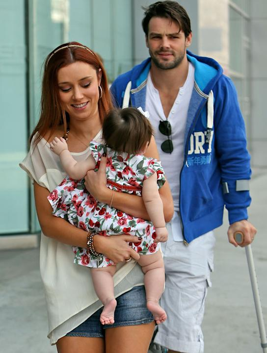 Hottest Celebrity Dads: The Saturdays star Una Healy's husband Ben Foden