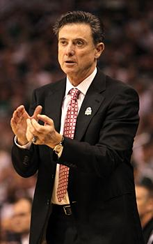 Rick Pitino the survivor is one win from Final Four