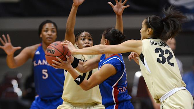NCAA Womens Basketball: NCAA Tournament-Kansas vs Colorado
