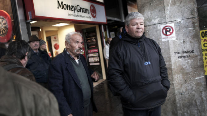 Greek public sector cutbacks trigger strike