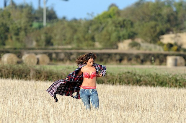 Rihanna New Video Shoot in County Down, Northern Ireland