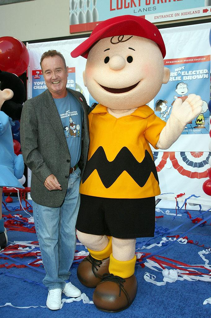 "Warner Home Video's DVD Release Of ""You're Not Elected, Charlie Brown"": Peter Robbins"