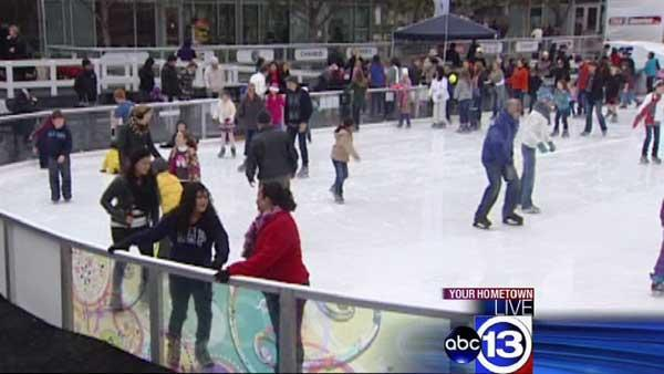 Houston's Discovery Green full of winter fun