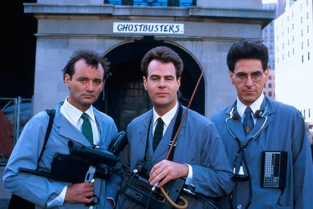 &quot;Ghostbusters&quot;: 1984 gingen Bill Murray, Dan Aykroyd und Harold Ramis (v.l.n.r) auf Geisterjagd (Bild: ddp images)