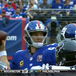 Week 3: New York Giants quarterback Eli Manning highlights