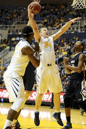 West Virginia beats Mount St. Mary's 77-62