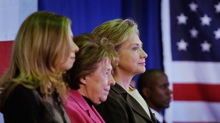 FILE:  Hillary Clinton's Mother Dorothy Rodham Dies At 92