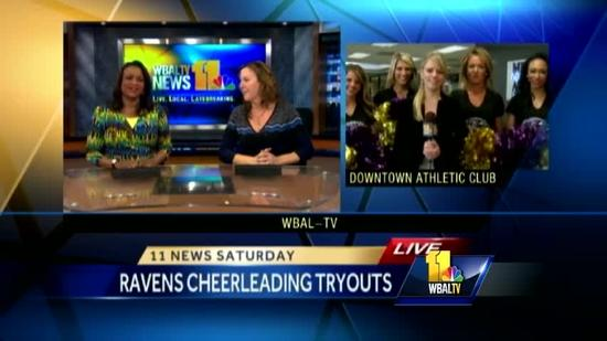 Baltimore Ravens cheerleader tryouts begin