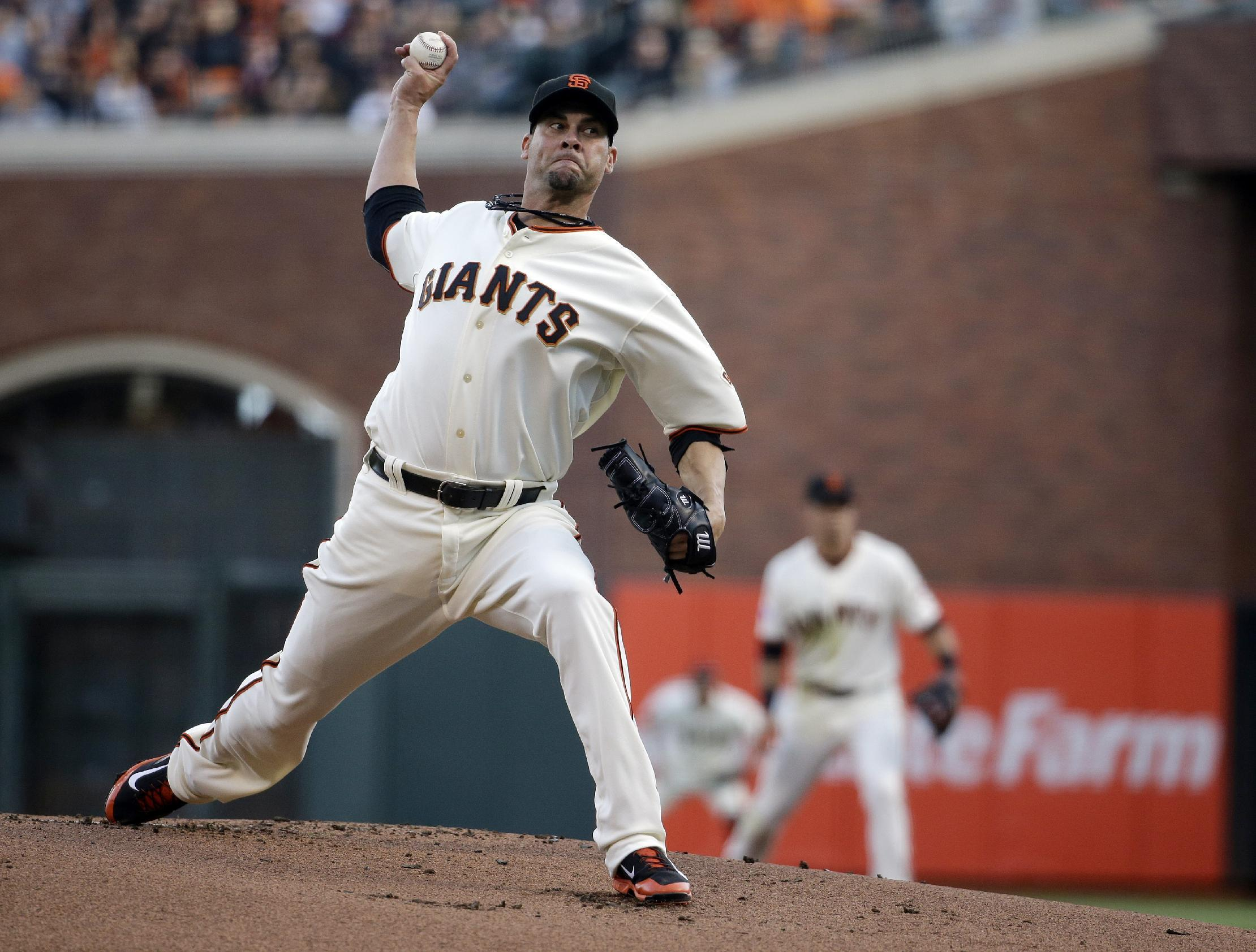 Ryan Vogelsong, Giants agree to $4 million, 1-year deal