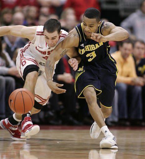 Thomas has 20, OSU hands Michigan 1st loss, 56-53
