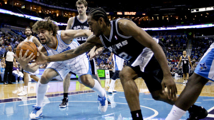 NBA: San Antonio Spurs at New Orleans Hornets
