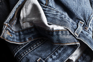 Keep denim strong -- always line dry or hang jeans to dry.