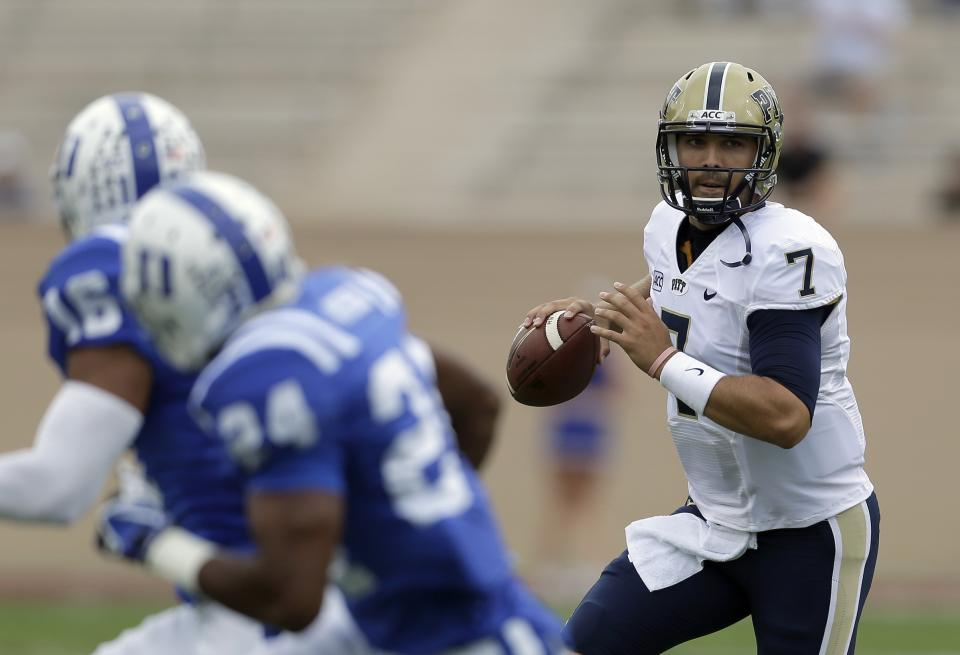 Well-traveled QB Savage blossoming at Pitt