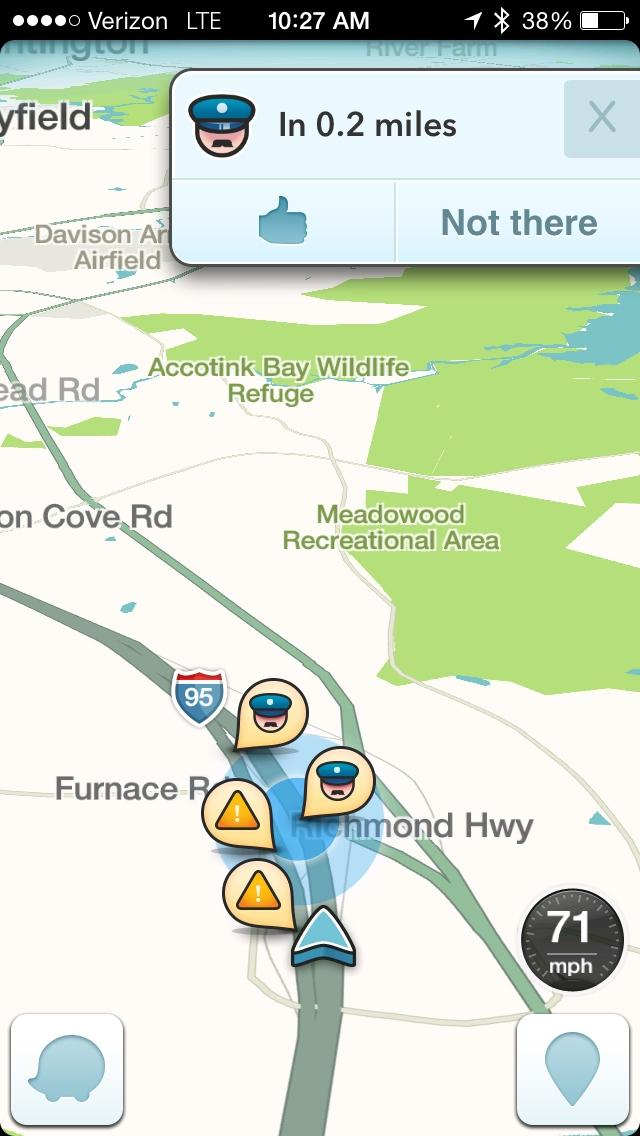 US sheriffs expand concerns about Waze mobile traffic app