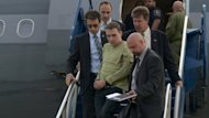 "Luka Rocco Magnotta (centre) is escorted by police as he arrives in Montreal, Canada, on June 18. Beijing on Tuesday urged Canada to ensure justice was done for a Chinese citizen brutally killed and dismembered in Montreal. Magnotta, the 29-year-old porn actor dubbed the ""Canadian Psycho"", is the suspect in the case"