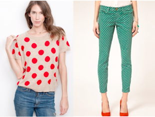 8 ways to wear dots and stripes this spring