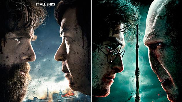 Movie Talk The Hangover 3 Harry Potter and the Deathly Hallows Poster 630
