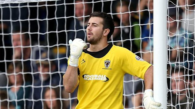 Ross Worner, AFC Wimbledon goalkeeper (PA Photos)