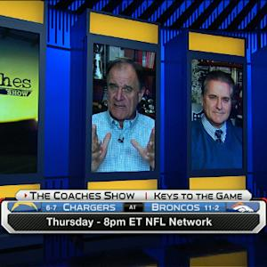 'The Coaches Show' TNF Preview: Denver Broncos vs. San Diego Chargers