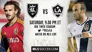 Real Salt Lake vs. LA Galaxy | MLS Match Preview