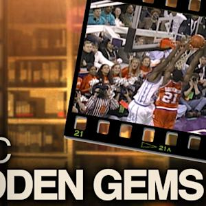 Clemson's Greg Buckner Game-Winning Dunk vs UNC in 1996 ACC Tournament | ACC Hidden Gems