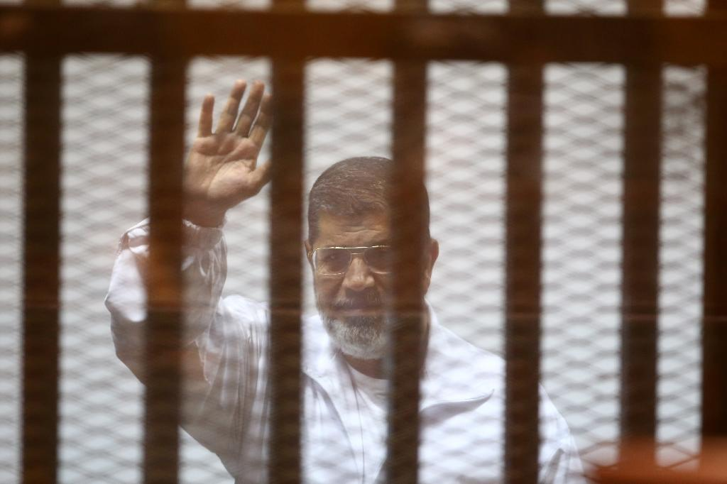 Egypt's Morsi faces possible death penalty in first verdict