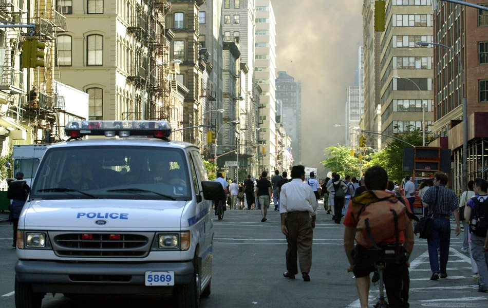 World Trade Center Terrorist Attack - Street Scenes