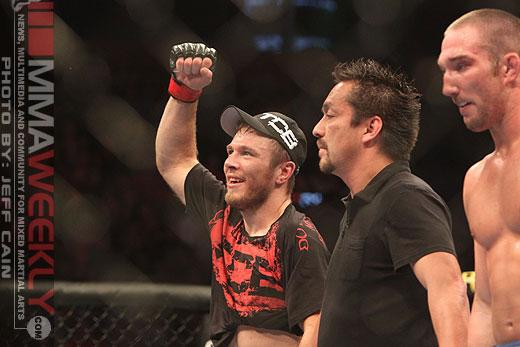 Dan Miller Welcomes Jordan Mein to the Octagon at UFC 158′s Welterweight Fest