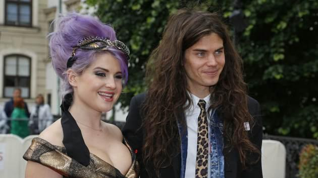 Kelly Osbourne and Matthew Mosshart attend the 'AIDS Solidarity Gala 2013' at Hofburg Vienna on May 25, 2013 in Vienna, Austria -- Getty Premium