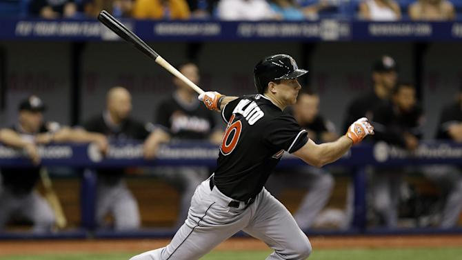 Rookie Realmuto has 3 RBIs, Marlins beat Rays 11-6