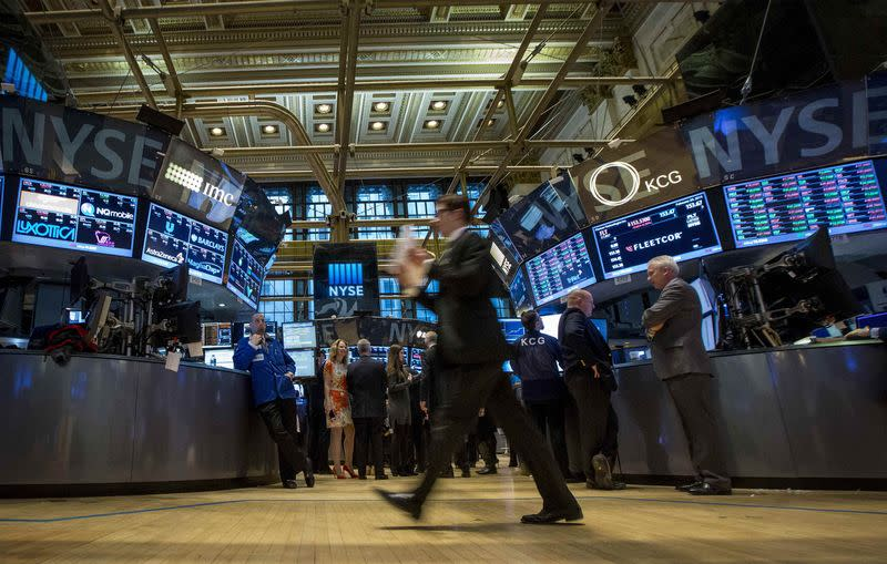 Wall Street lower for second day; healthcare is sole gainer