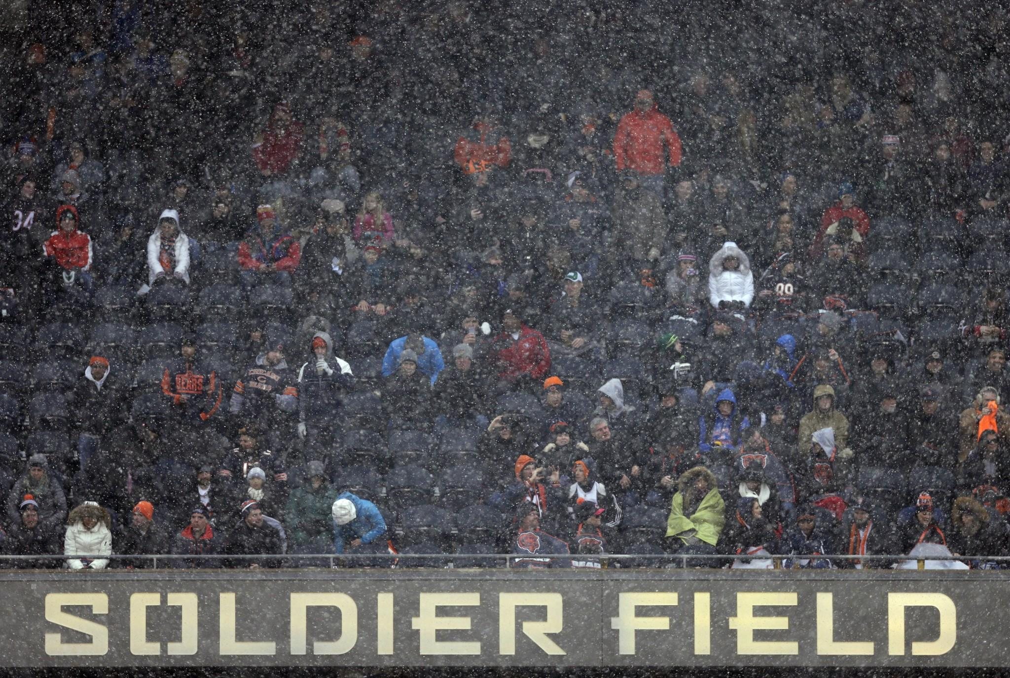 The snowy touchdown celebration that might have cost the 49ers a touchdown