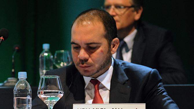 """Prince Ali of Jordan vows to stay in race to head FIFA """"until the end"""""""
