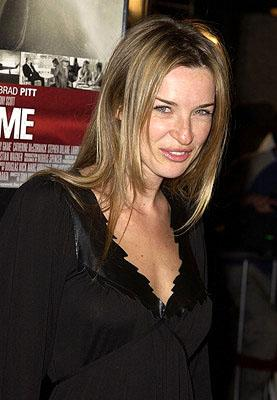 Premiere: Ever Carradine at the Westwood premiere of Spy Game - 11/19/2001