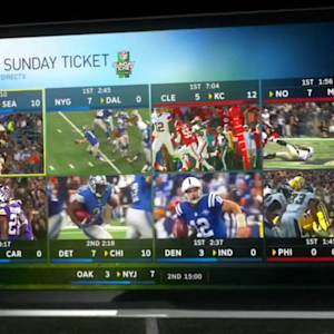 NFL SUNDAY TICKET IS STAYING ON DIRECTV