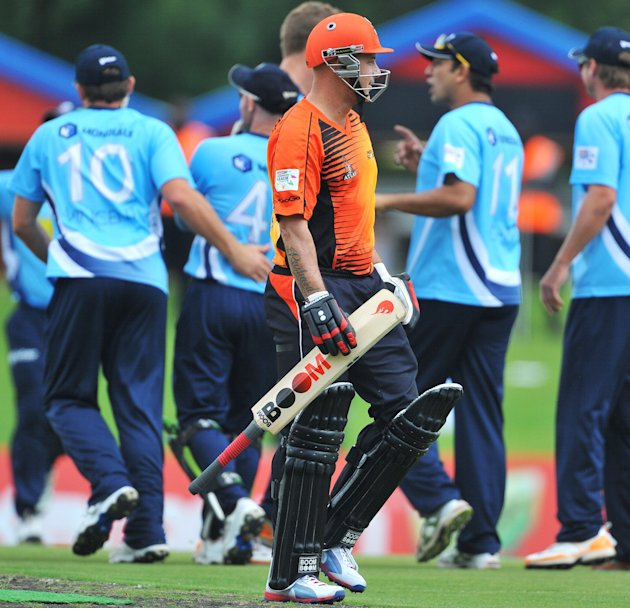 Karbonn Smart CLT20: Auckland Aces v Perth Scorchers in Pretoria, South Africa