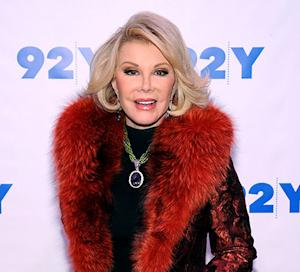 Joan Rivers' Fashion Police Taping Canceled as Doctors Assess Potential Brain Damage: Report