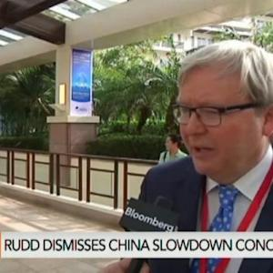 Global Growth Is Weighing on China: Rudd