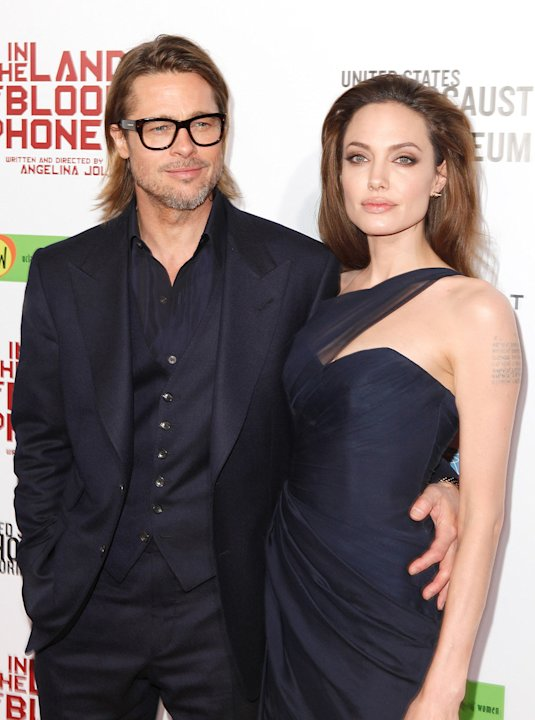 in the land of blood and honey 2011 LA Premiere Brad pitt angelina jolie