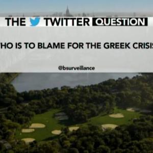 Who Is to Blame for the Greek Crisis?