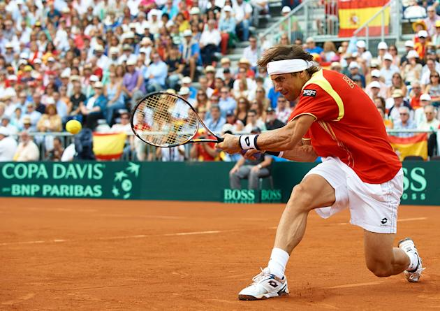 Spain v USA - Davis Cup Semi Final - Day Three