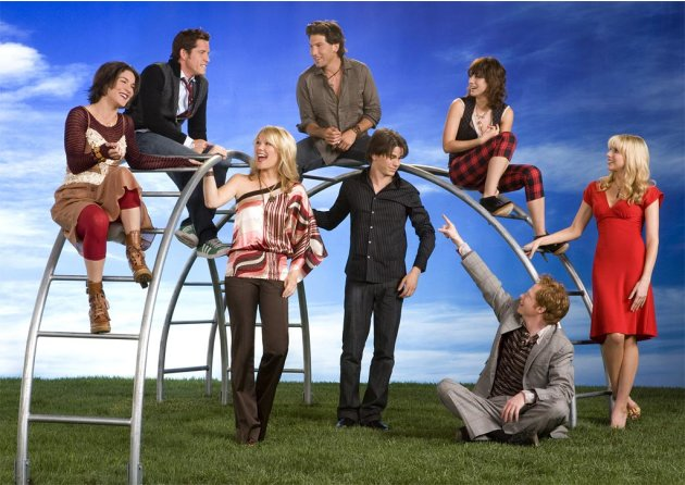 The cast of The Class on CBS. 