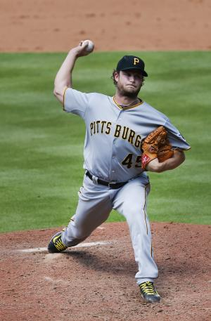 Cole throws 7 scoreless innings, Pirates blank Bra …