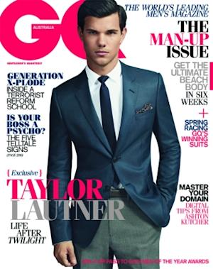 Taylor Lautner on the cover of GQ Australia October/November 2011 issue -- GQ Australia