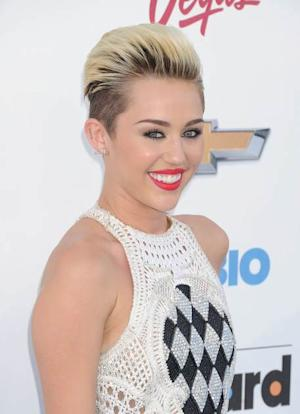 Miley Cyrus arrives at the 2013 Billboard Music Awards at the MGM Grand Garden Arena on May 19, 2013 in Las Vegas -- Getty Premium