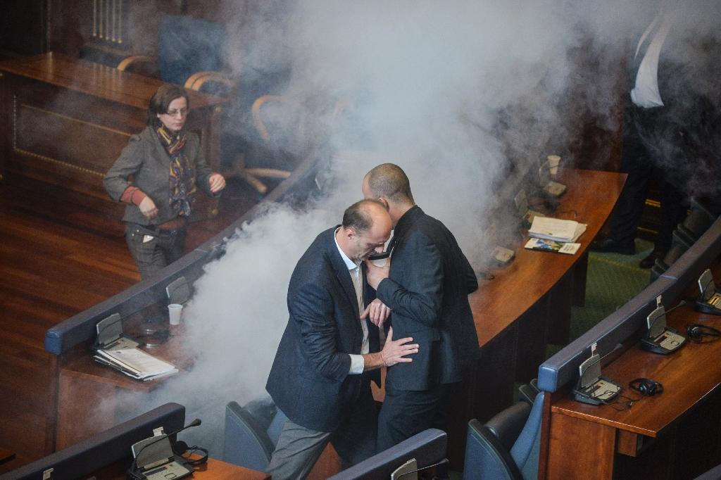 Three Kosovo MPs detained over fifth tear gas protest