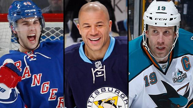 NHL Stanley Cup contenders: Rangers, Penguins & Sharks