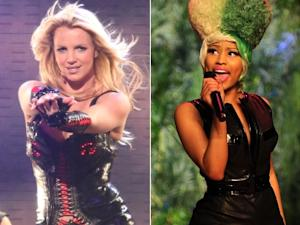 Britney Spears/Nicki Minaj -- Getty ImagesABC