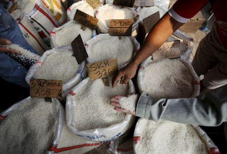 Indonesian minister fears government sabotage in contaminated rice scare